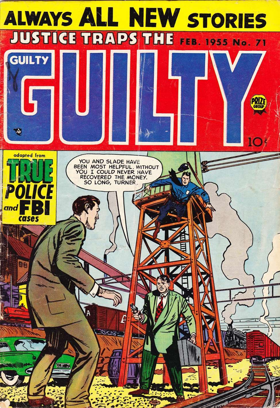 Comic Book Cover For Justice Traps the Guilty v8 5 (71)