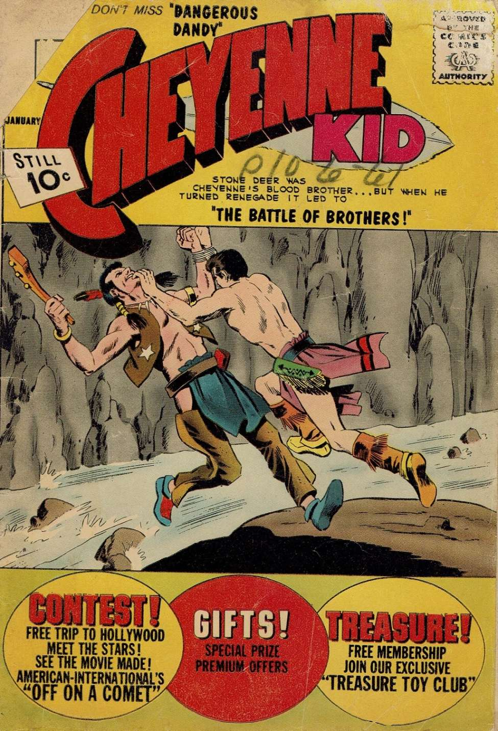 Comic Book Cover For Cheyenne Kid #32