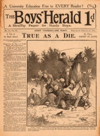 Large Thumbnail For The Boys' Herald 135 - Huggins Does His Duty