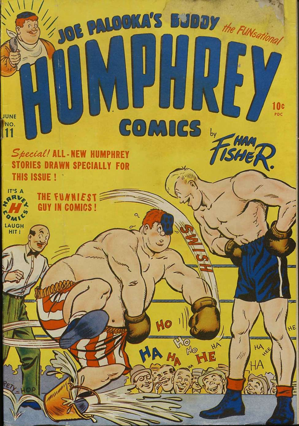 Comic Book Cover For Humphrey Comics #11