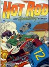 Cover For Hot Rod and Speedway Comics 3