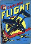 Cover For Captain Flight Comics 9