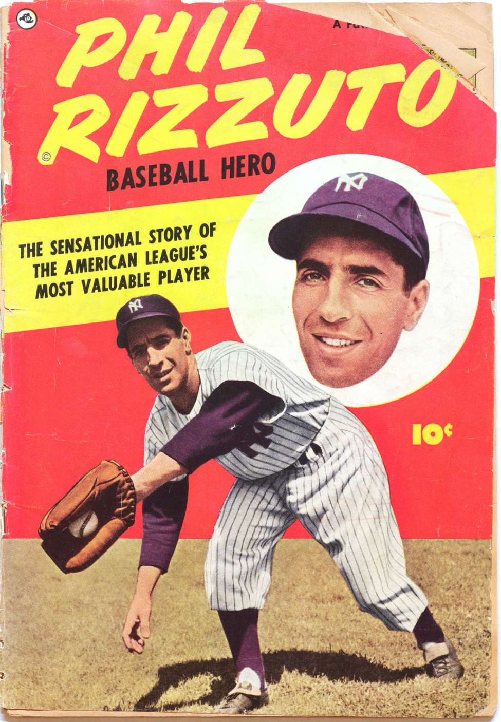Comic Book Cover For Phil Rizzuto [nn] - Version 1