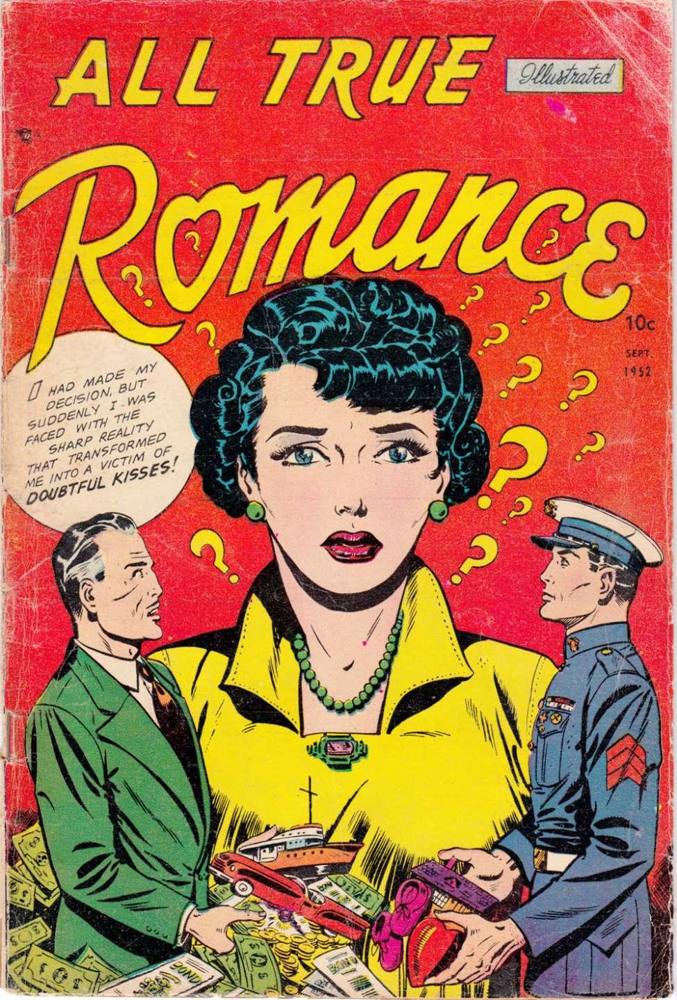 Romance Book Cover Letter : All true romance comic media book plus