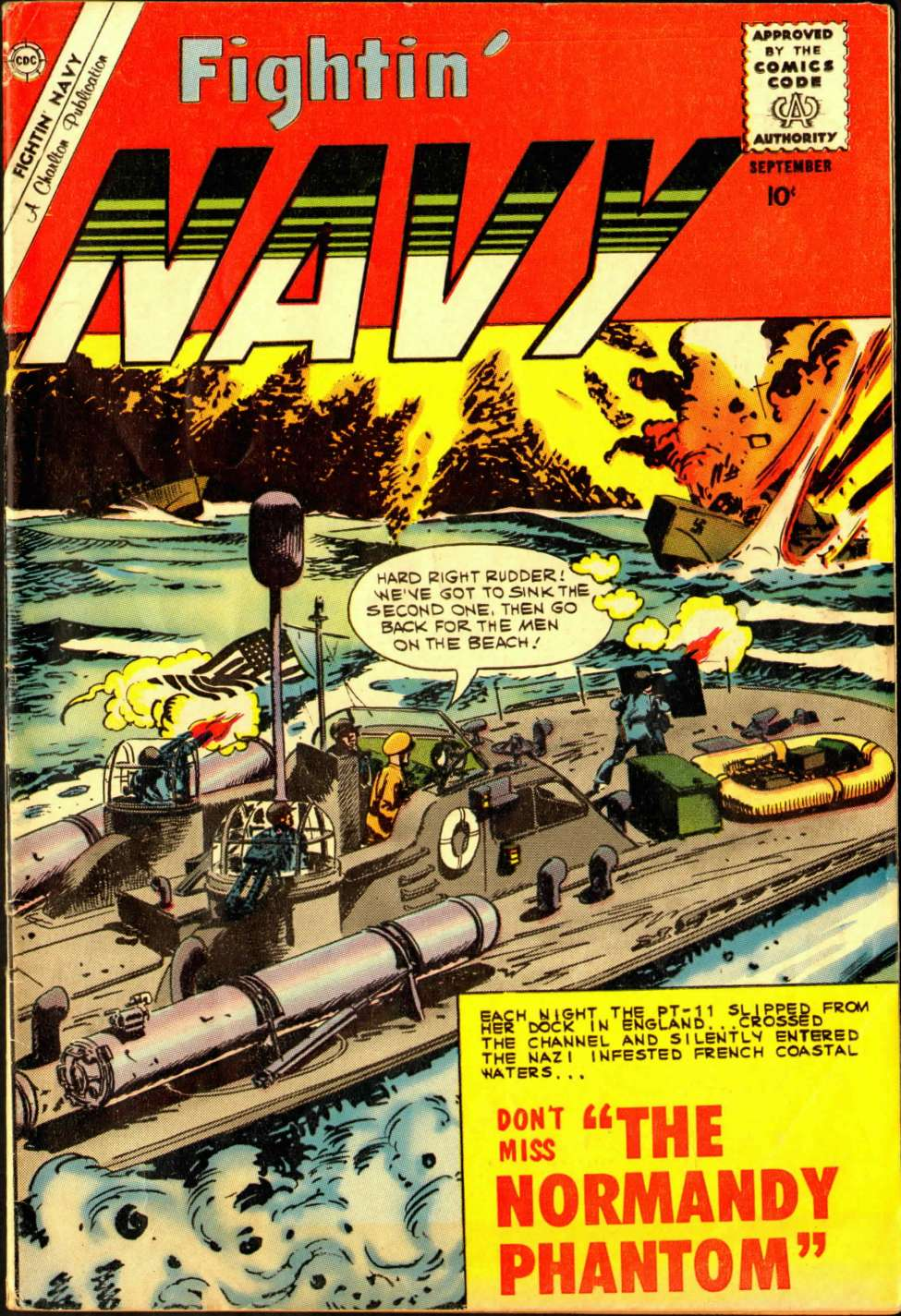 Comic Book Cover For Fightin' Navy #94