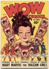 Cover For Wow Comics 18