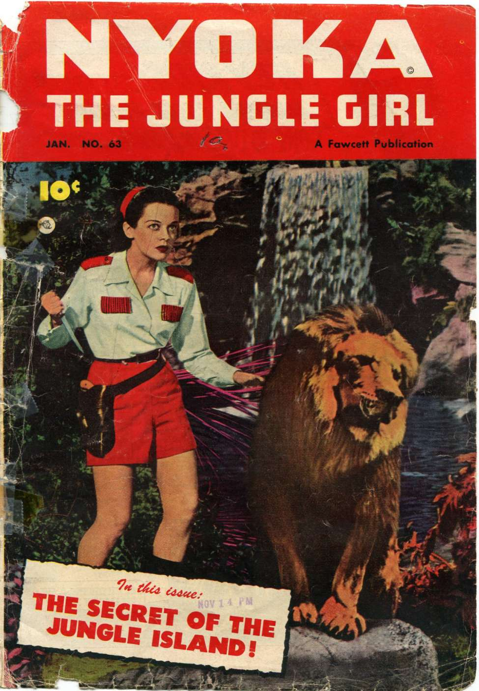 Comic Book Cover For Nyoka the Jungle Girl #63