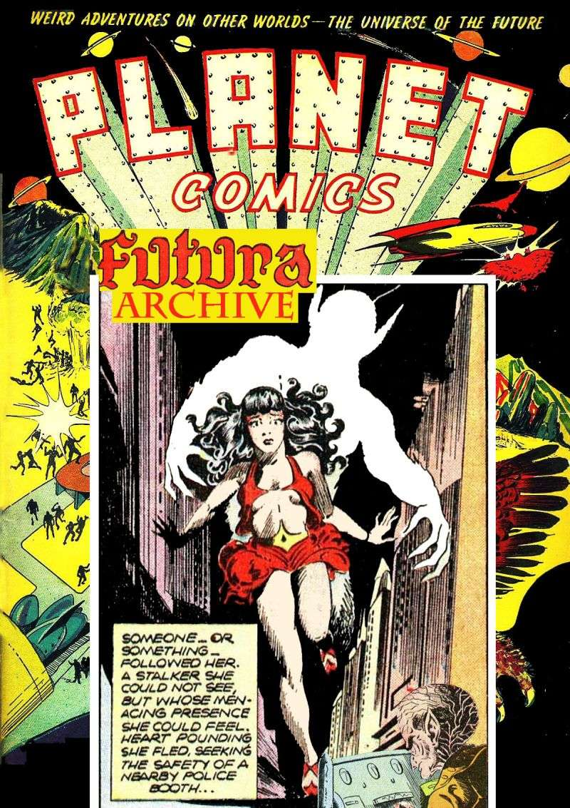 Comic Book Cover For Futura Archive (Planet Comics 43 64)