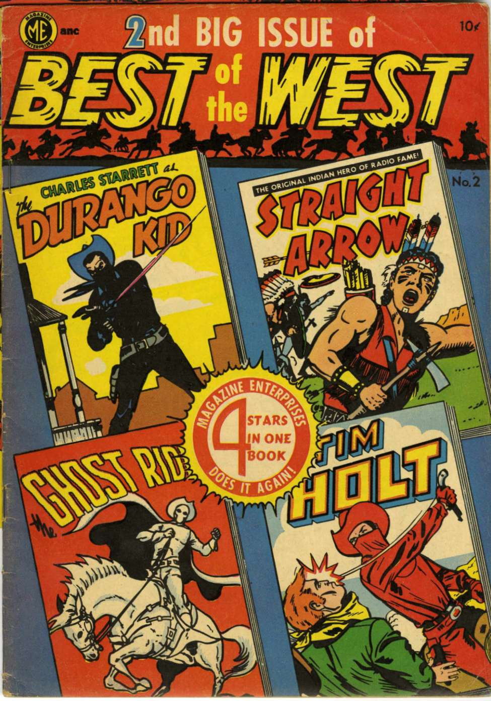 Comic Book Cover For Best of the West 2 [A-1 #46]