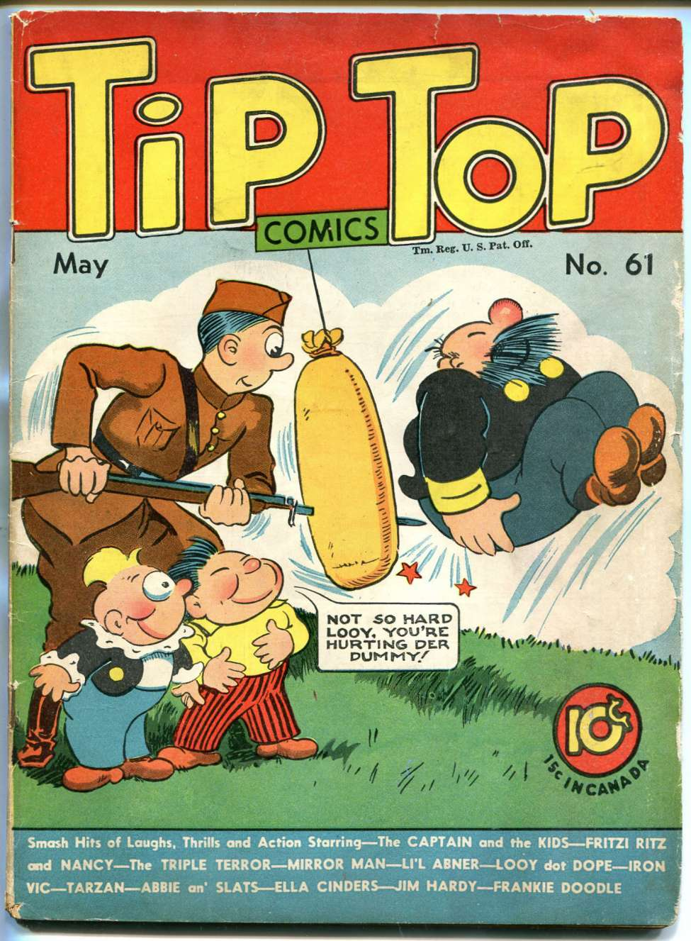 Comic Book Cover For Tip Top Comics 061