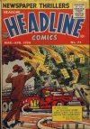 Cover For Headline Comics 75