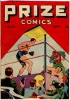 Cover For Prize Comics 45