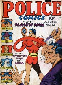 Large Thumbnail For Police Comics #12