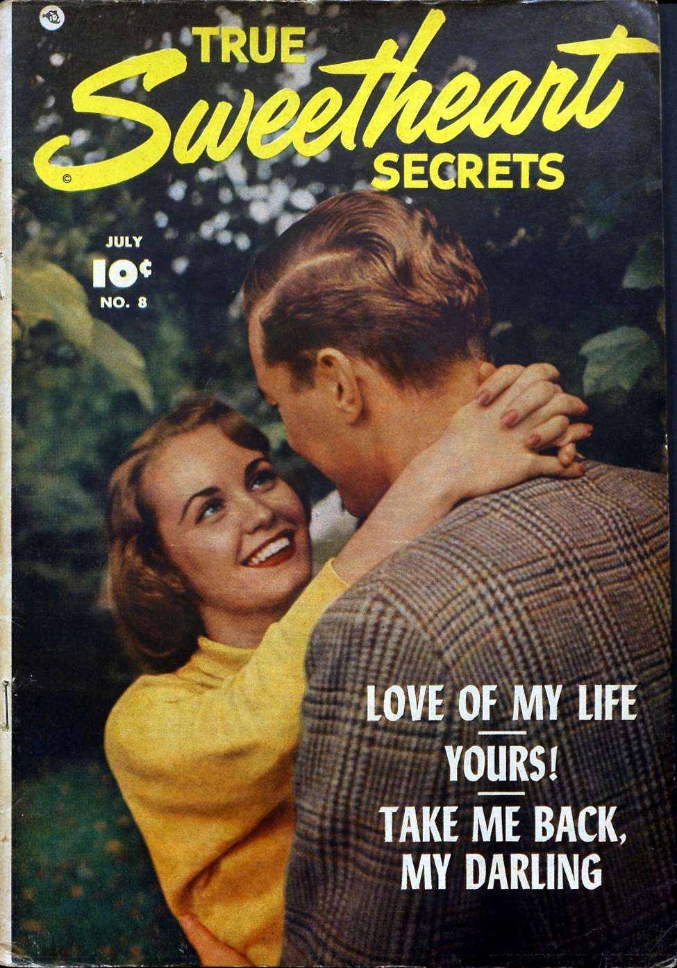 Comic Book Cover For True Sweetheart Secrets #8