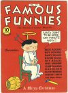Cover For Famous Funnies 77