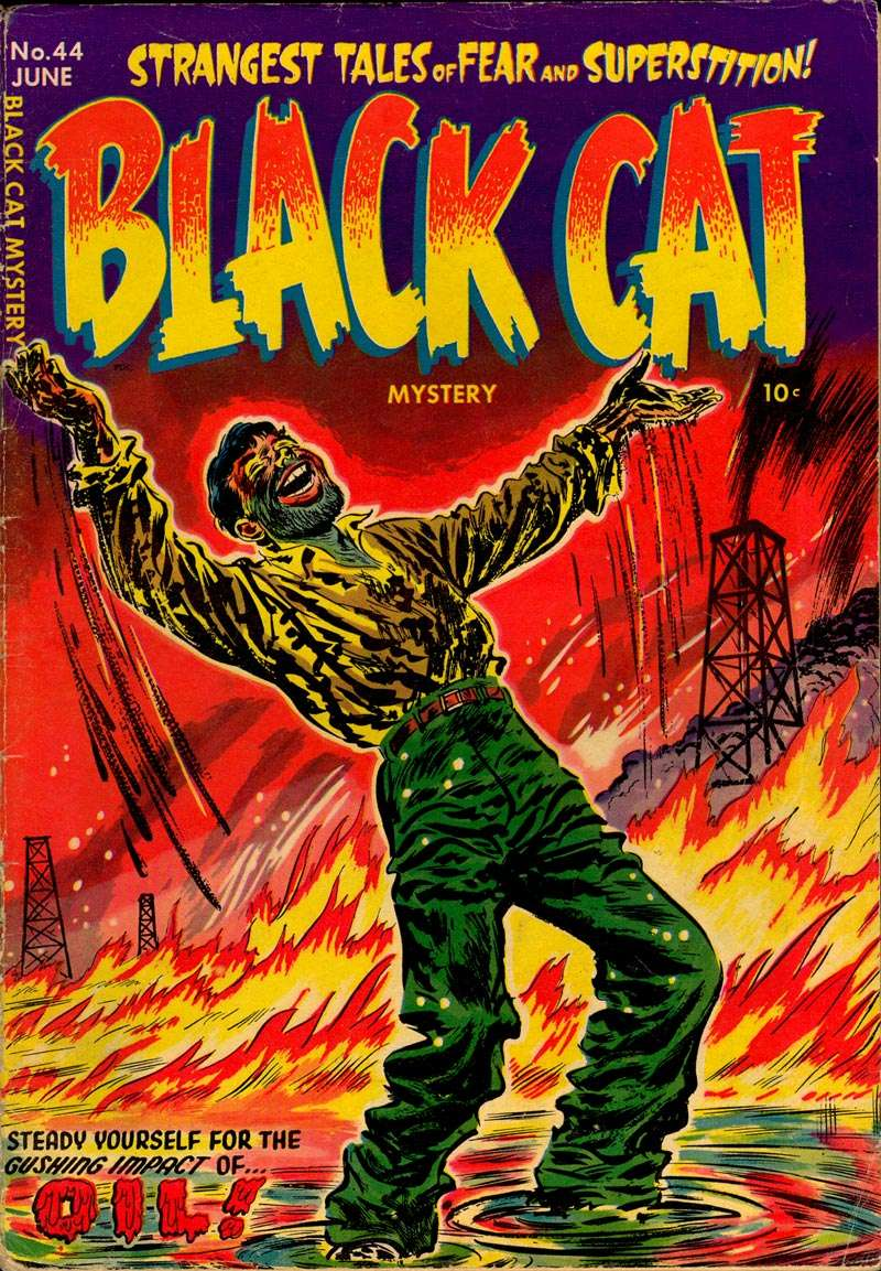 Comic Book Cover For Black Cat #44