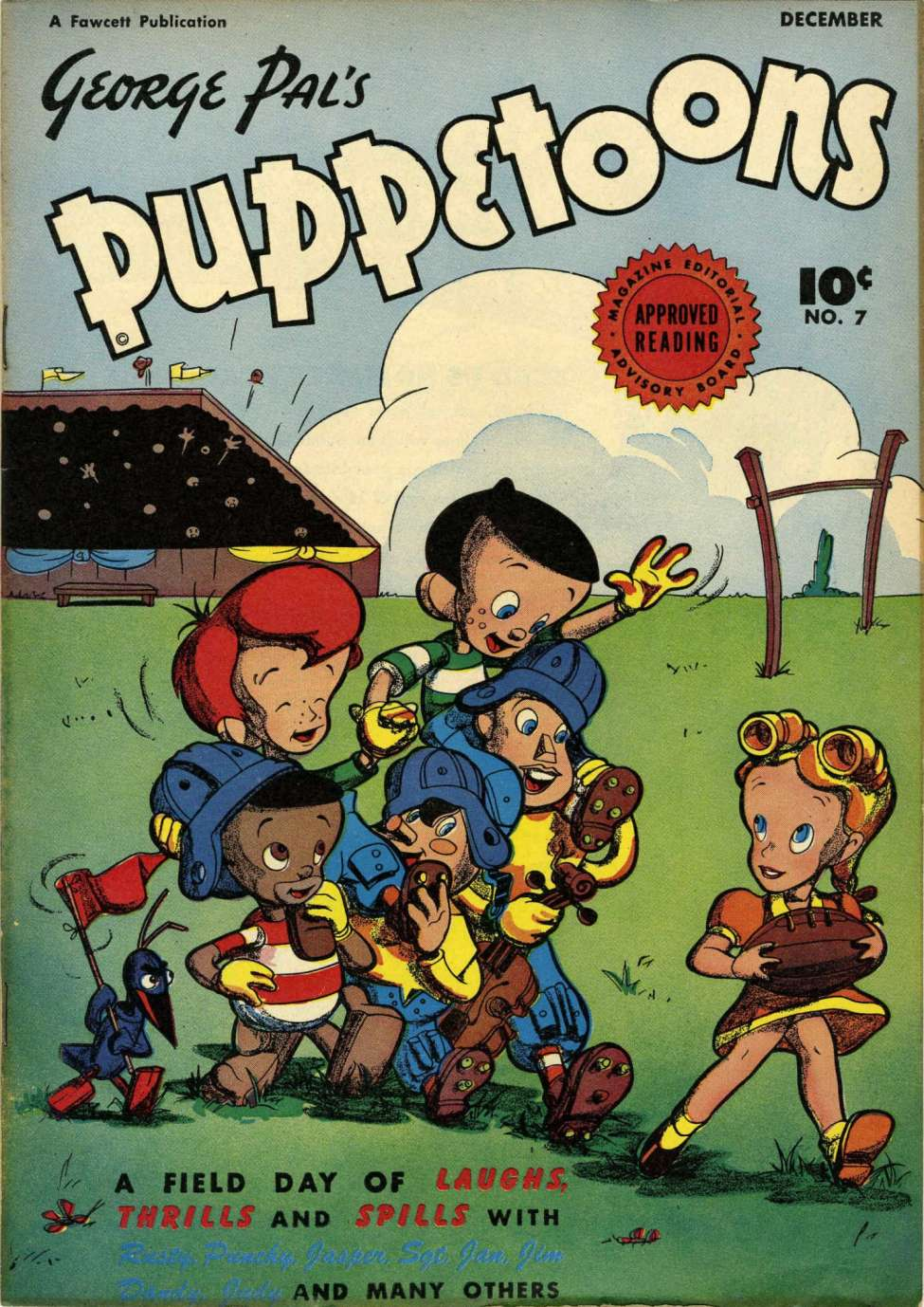 Comic Book Cover For George Pal's Puppetoons #7