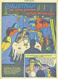 Large Thumbnail For Bulletman Archive Vol 12