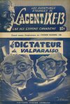Cover For L'Agent IXE 13 v2 22 Le dictateur de Valparaiso