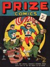 Cover For Prize Comics 21