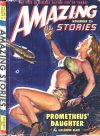 Cover For Amazing Stories v23 11 Prometheus' Daughter Alexander Blade