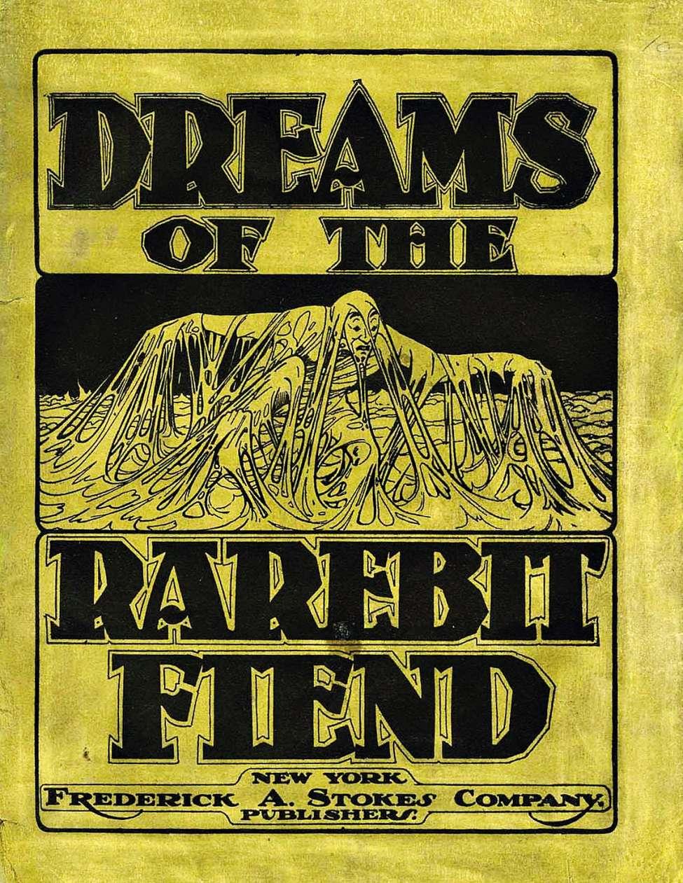 Comic Book Cover For Dreams of The Rarebit Fiend