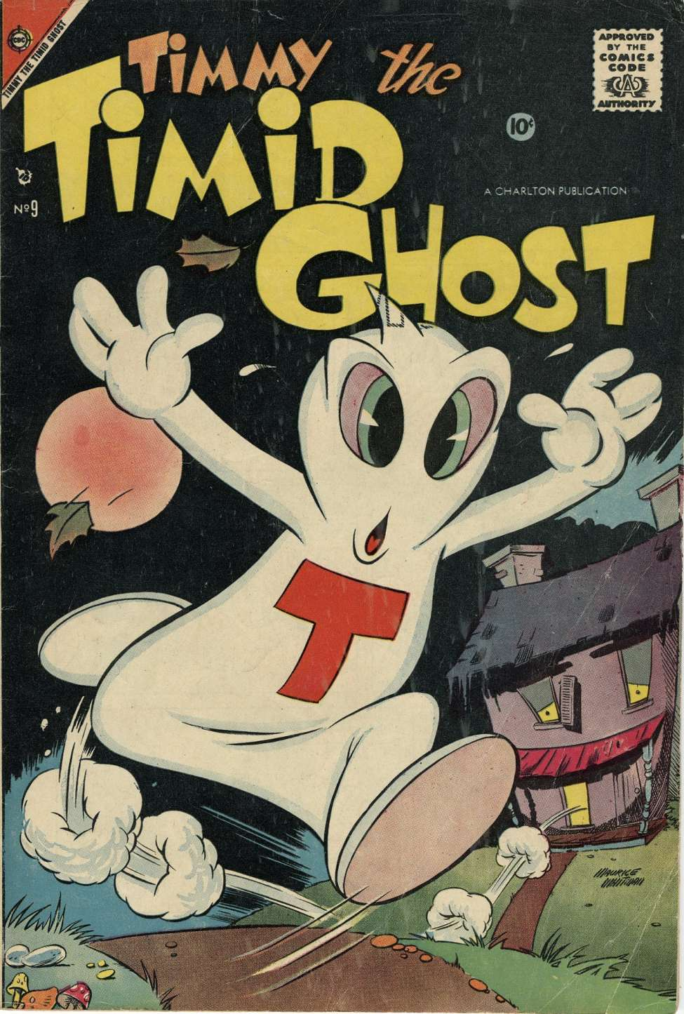 Comic Book Cover For Timmy the Timid Ghost #9