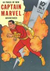 Cover For Captain Marvel Adventures 3 (fiche)