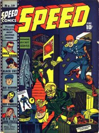 Large Thumbnail For Speed Comics #19
