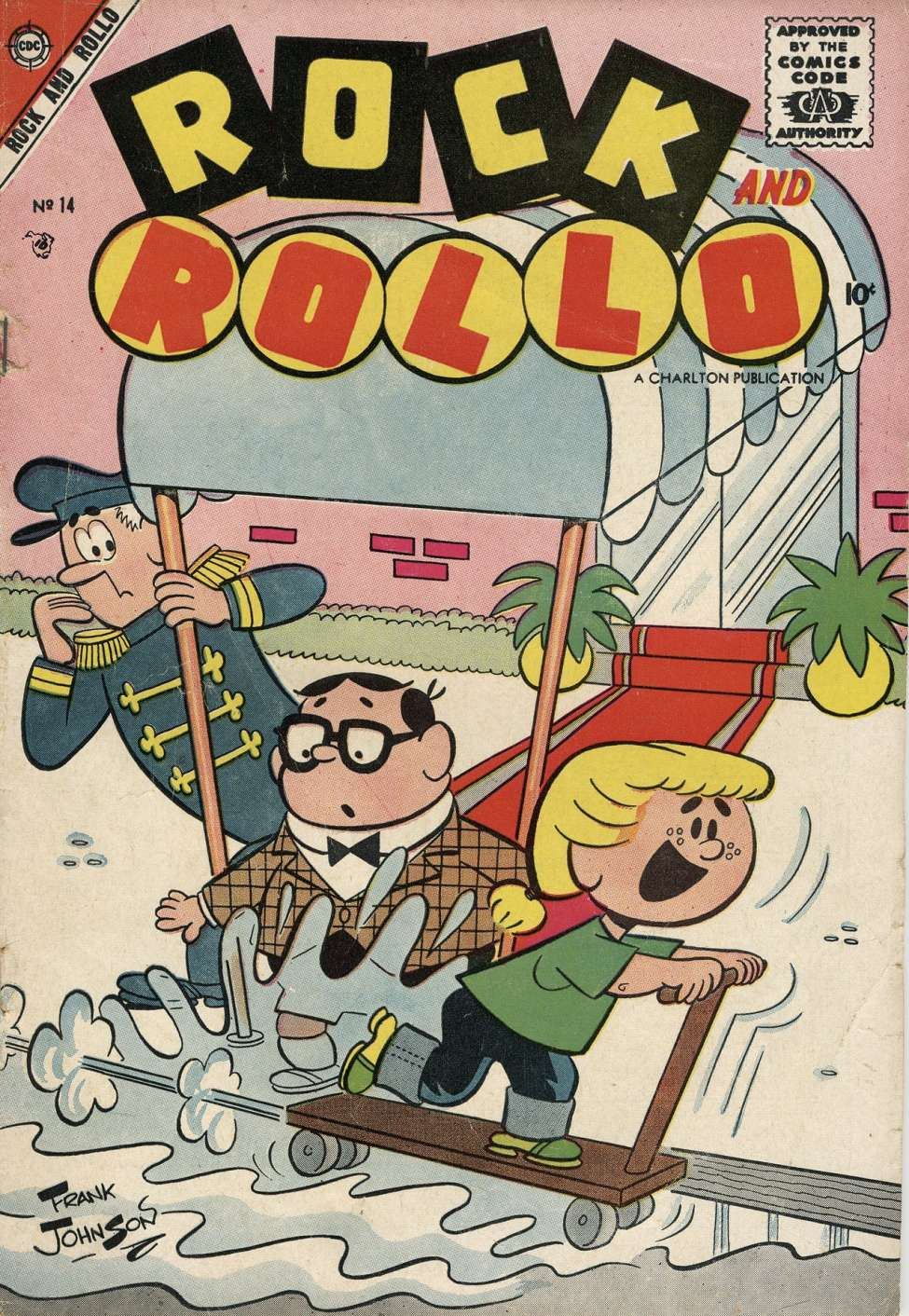 Comic Book Cover For Rock and Rollo #14