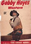 Cover For Gabby Hayes Western 16