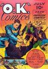 Cover For O.K. Comics 1