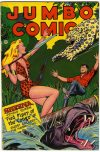 Cover For Jumbo Comics 92