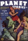 Cover For Planet Stories v2 2 Citadel of Lost Ships Leigh Brackett