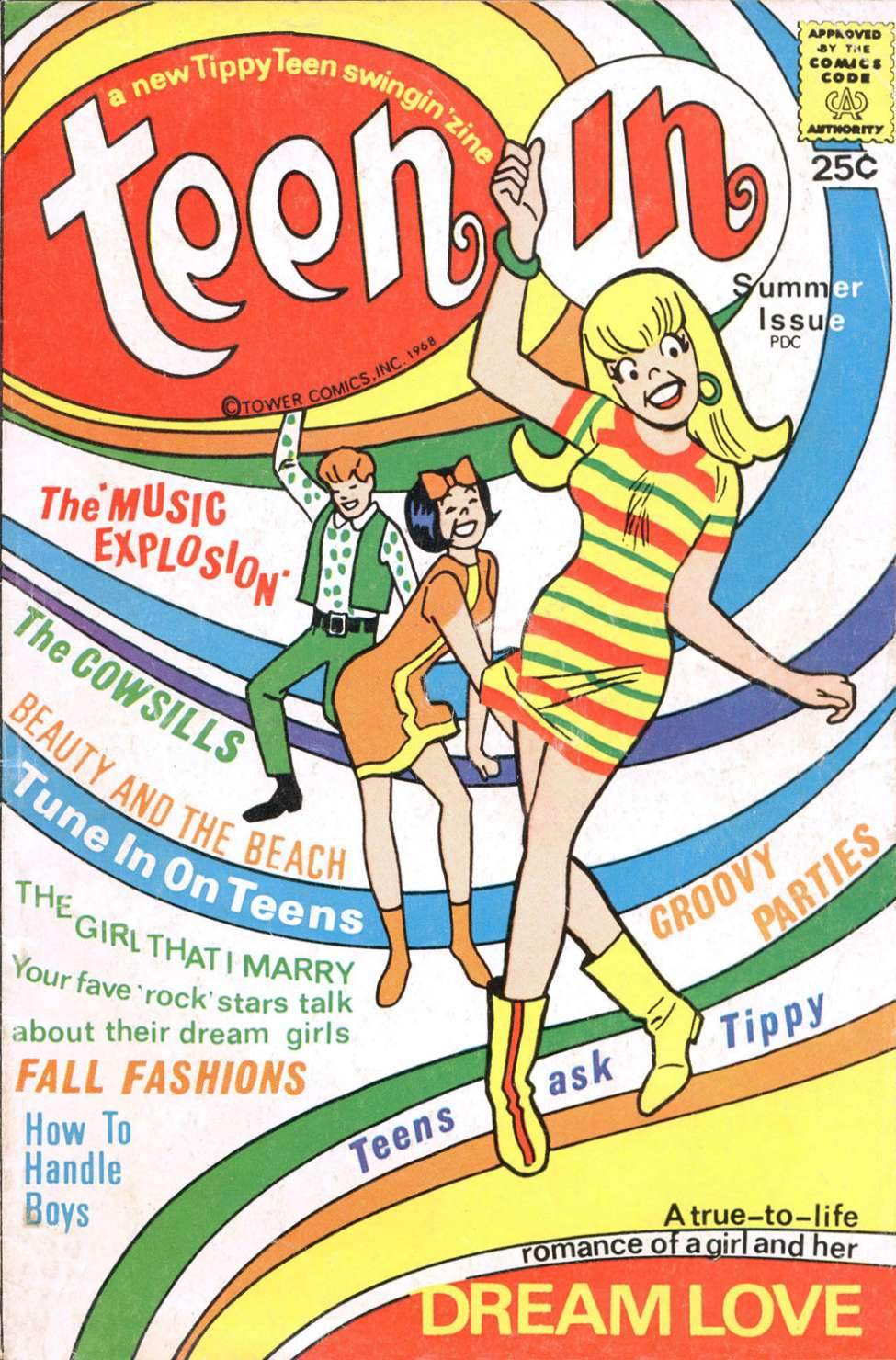Comic Book Cover For Teen-In 1