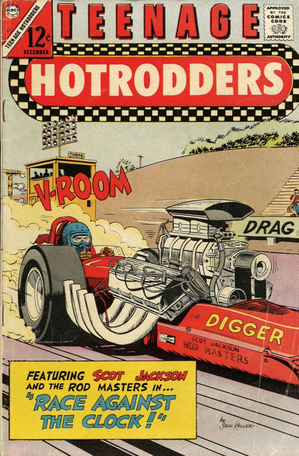 Teenage Hotrodders #21 (Charlton) - Comic Book Plus