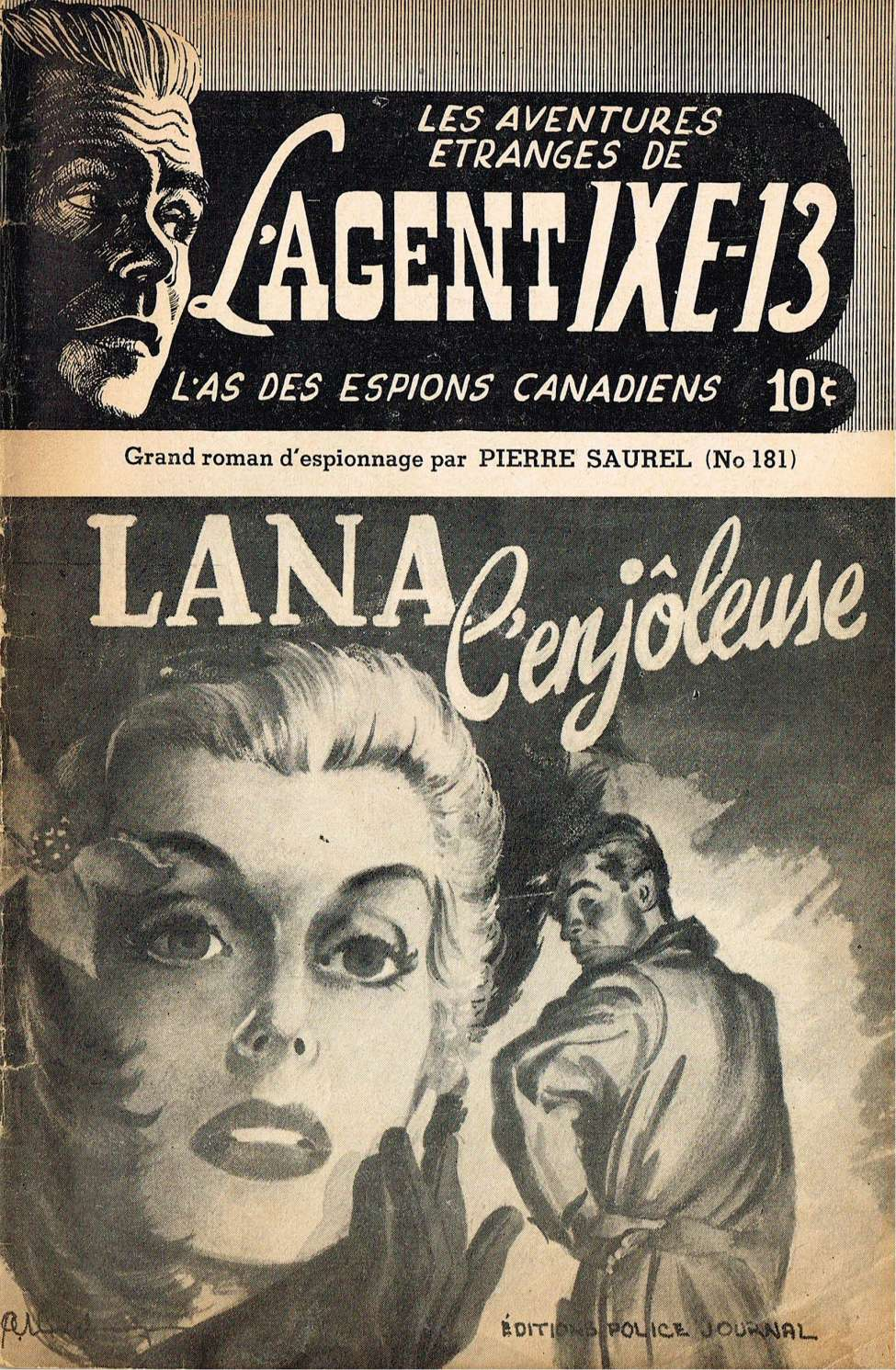 Comic Book Cover For L'Agent IXE-13 v2 181 - Lana l'enjôleuse