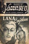 Cover For L'Agent IXE 13 v2 181 Lana l'enjôleuse