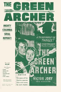 Large Thumbnail For Green Archer Serial Pressbook