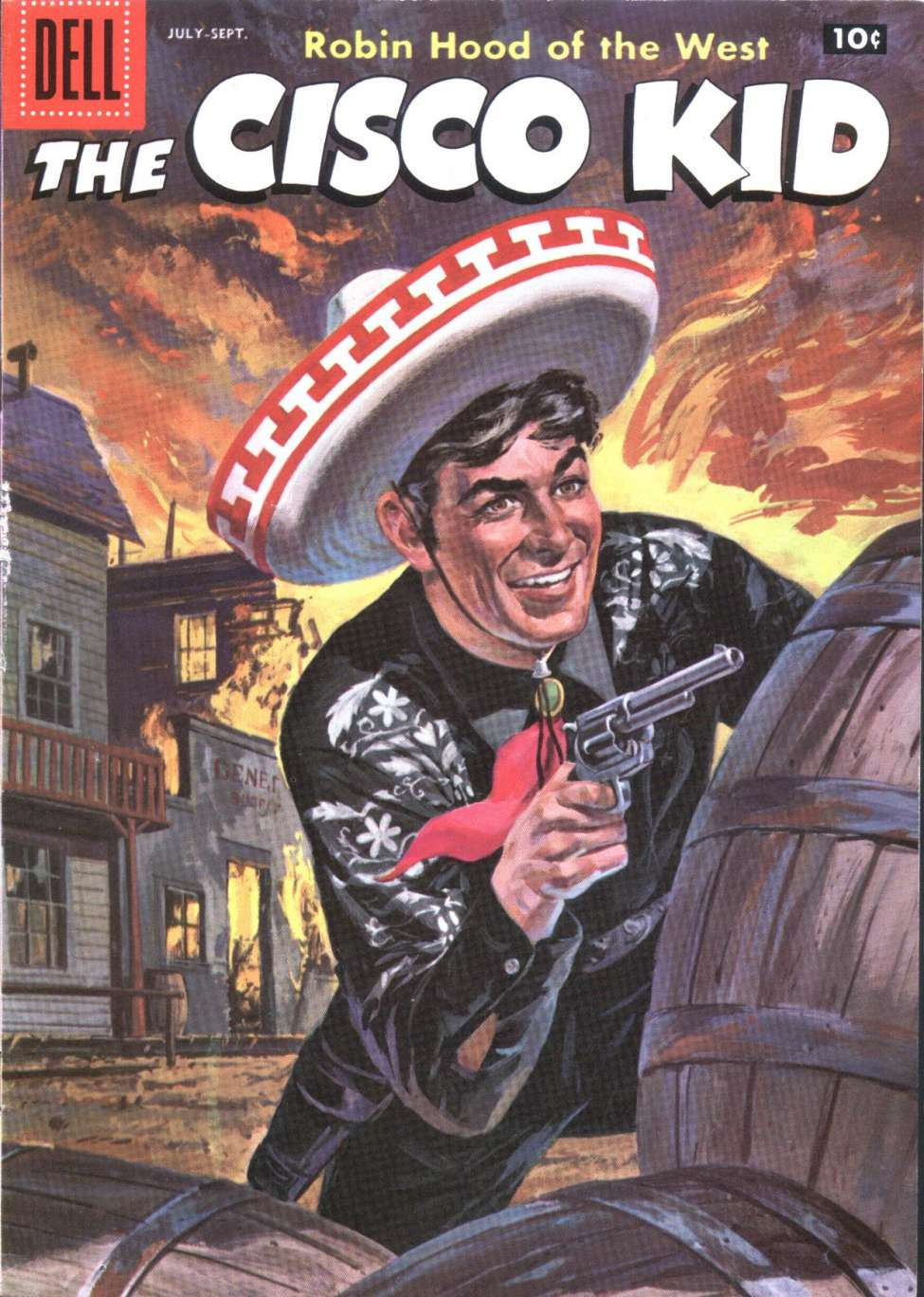 Comic Book Cover For The Cisco Kid 36
