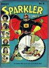 Cover For Sparkler Comics 6