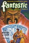 Cover For Fantastic Adventures v12 10 The Masters of Sleep L. Ron Hubbard