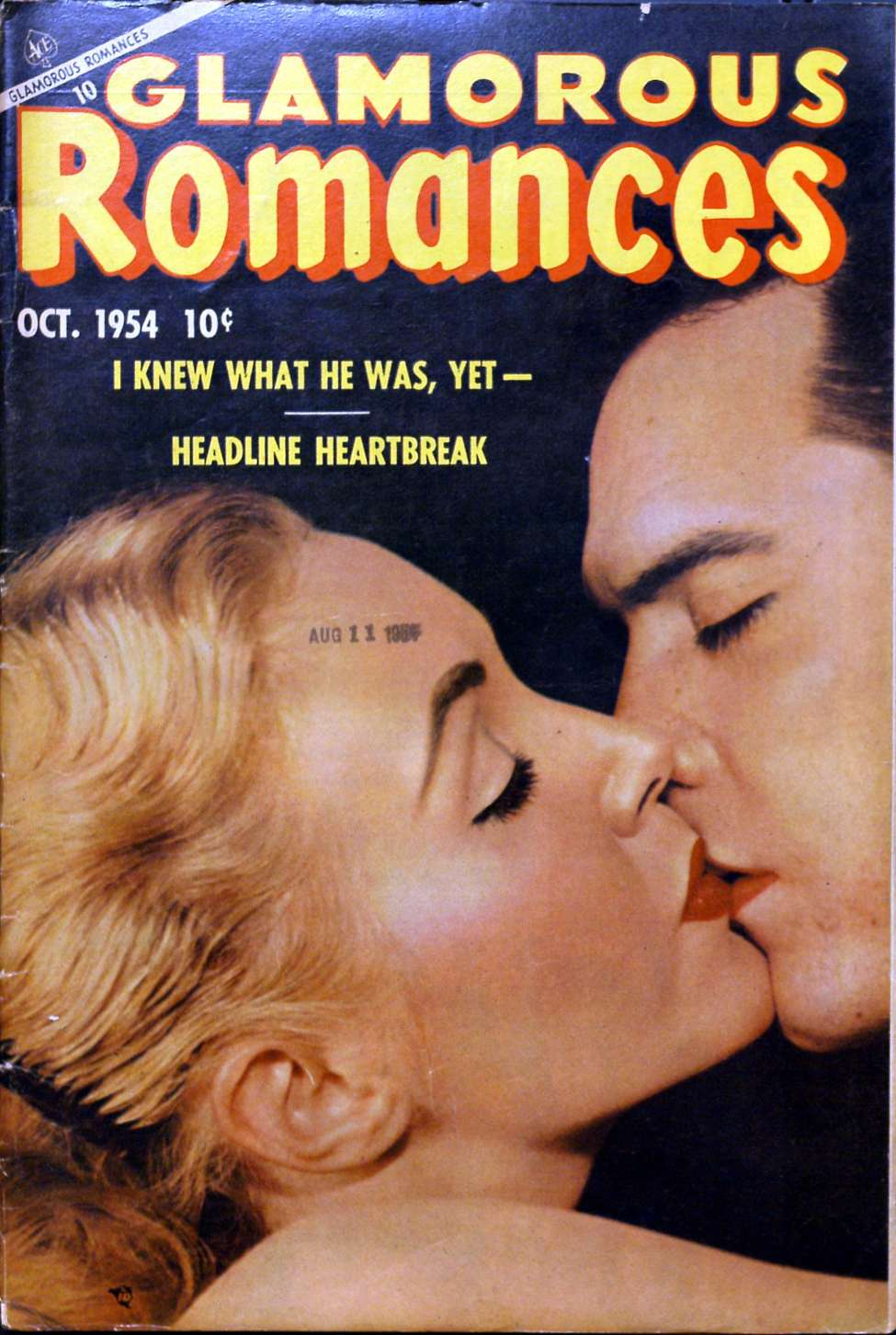 Comic Book Cover For Glamorous Romances #78