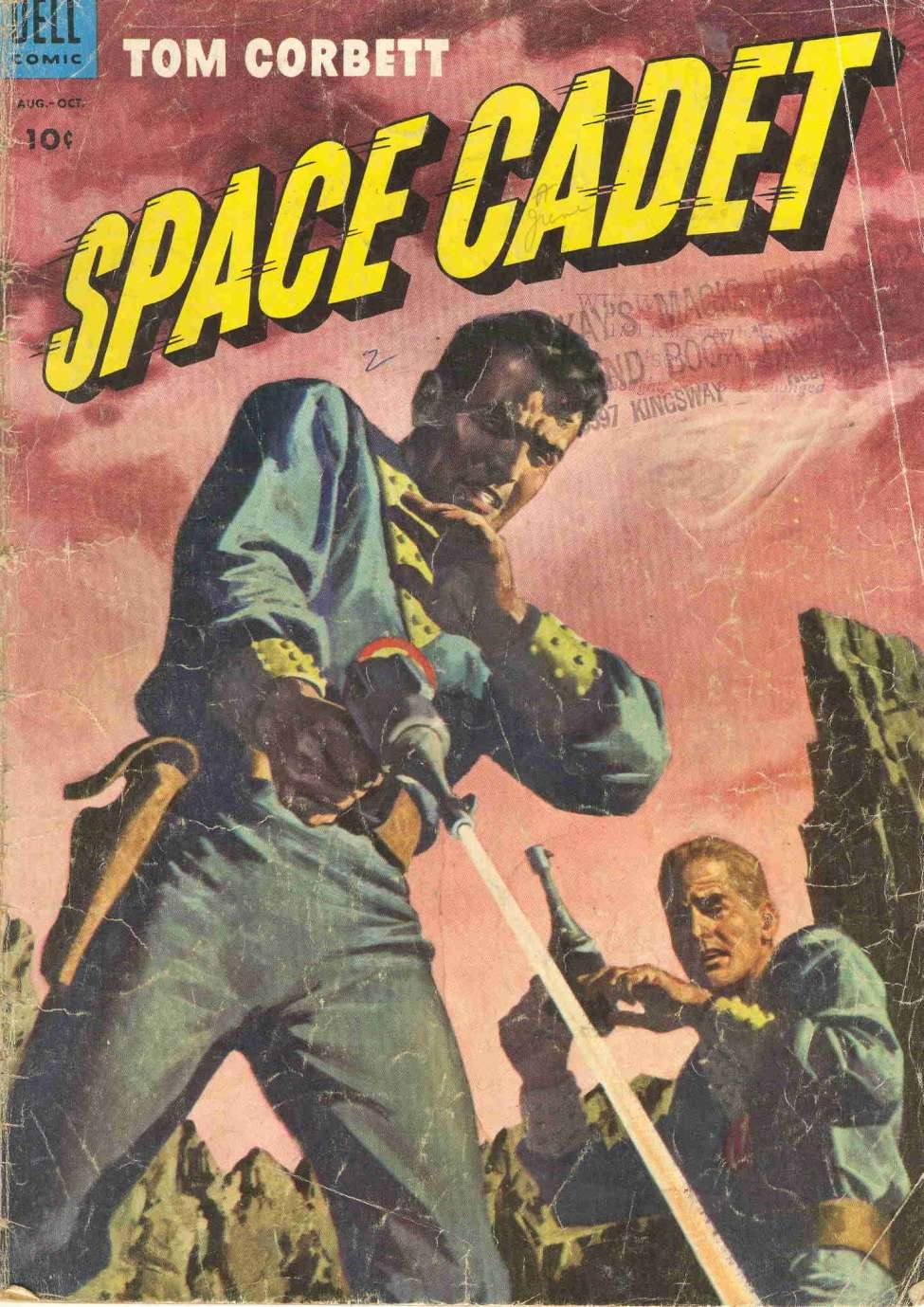 Comic Book Cover For Tom Corbett, Space Cadet #7