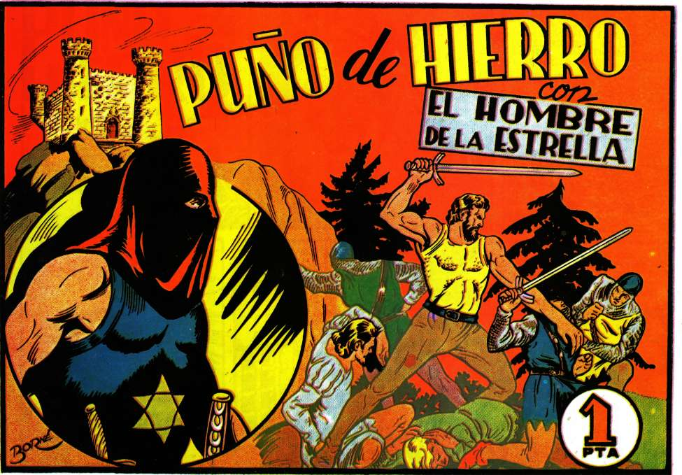Comic Book Cover For El hombre de la estrella 02