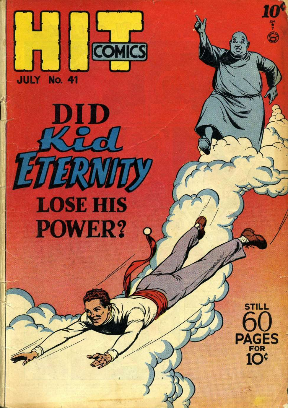 Comic Book Cover For Hit Comics #41