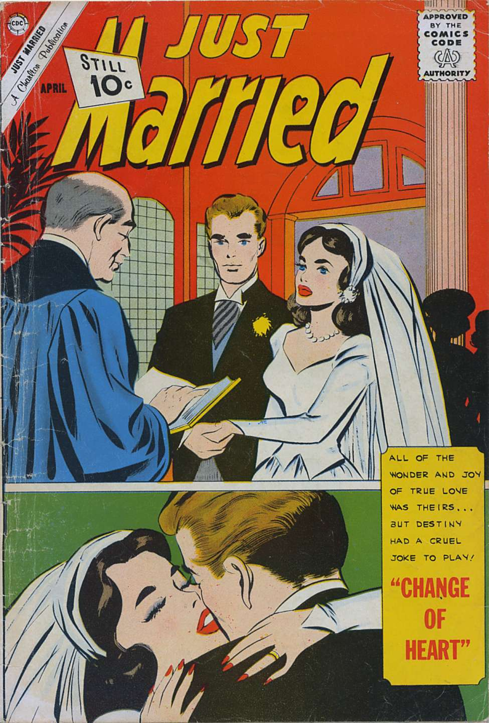 Comic Book Cover For Just Married #24