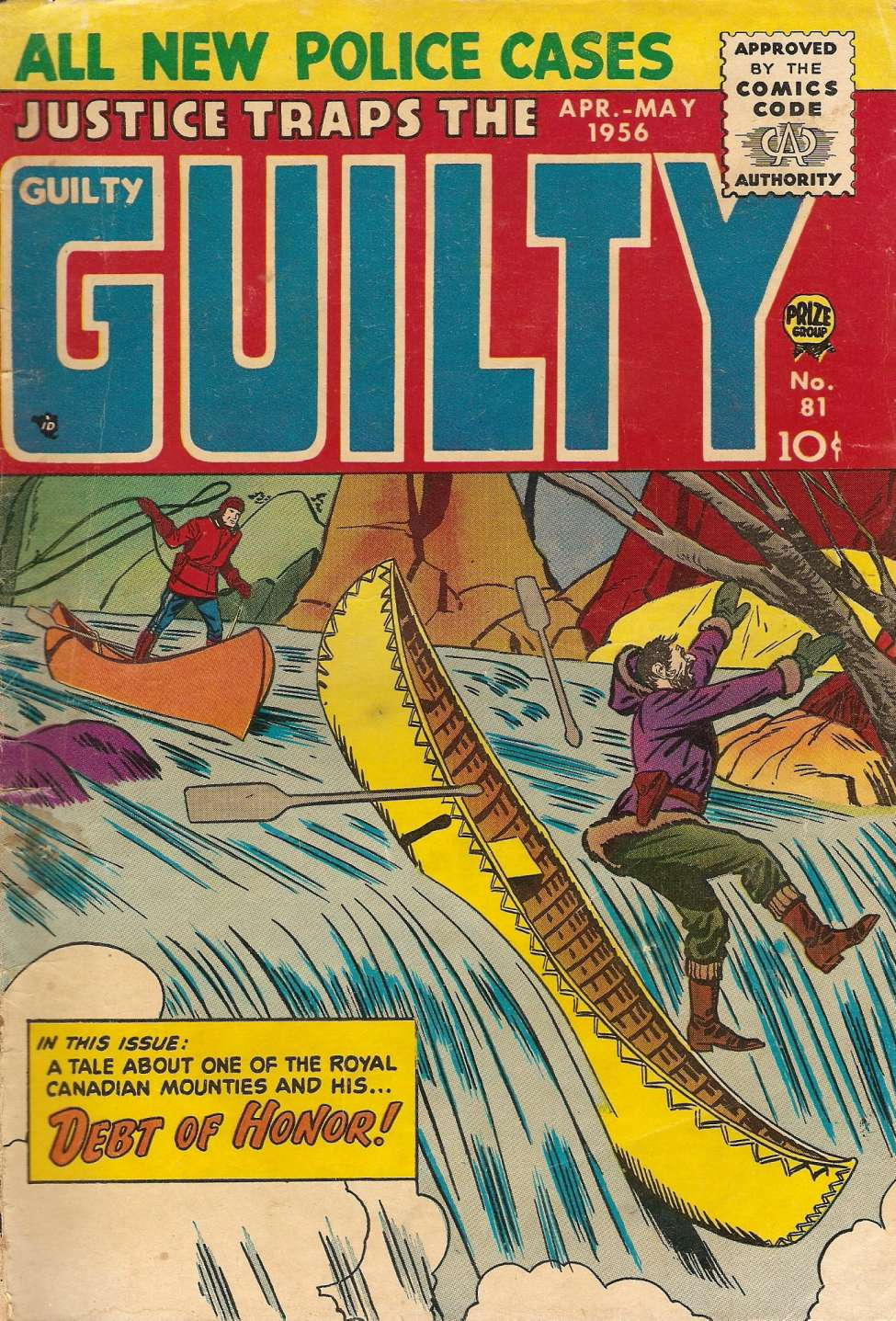 Comic Book Cover For Justice Traps the Guilty v9 3 (81)