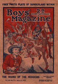 Large Thumbnail For Boys' Magazine 211