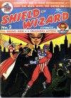 Cover For Shield Wizard Comics 2